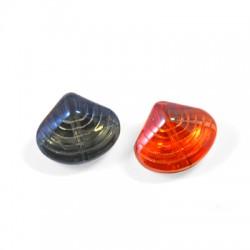 Glass Pendant Shell 16x13mm (Ø1.2mm)