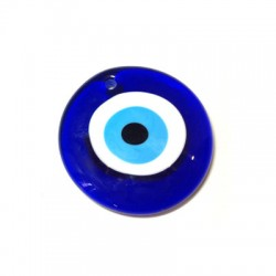 Glass Eye Bead Round 60mm