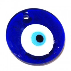 Glass Eye Bead Round 100mm