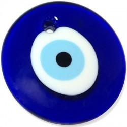 Ciondolo in Vetro Rotondo con Occhio 150mm