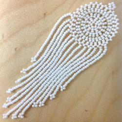 Ciondolo di Perline Giapponesi Acchiappasogni ~100mm
