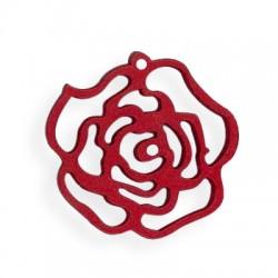 Ξύλινο Μοτίφ Λουλούδι 44x49mm