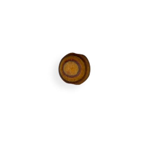 Ξύλινη Χάντρα Μπίλια Στρογγυλή 12mm (Ø2mm)