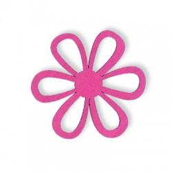 Ξύλινο Μοτίφ Λουλούδι 45mm