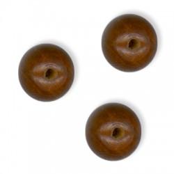 Ξύλινη Χάντρα Μπίλια Στρογγυλή 14mm