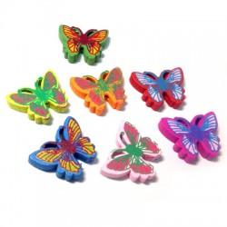 Wooden Butterfly 25x20mm