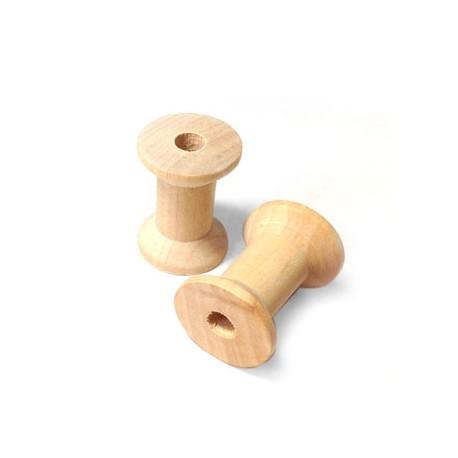 Wooden Spool 22x29mm