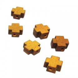Wooden Slider Cross 8.4x8.2mm (Ø 2mm)