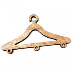 Wooden Pendant Hanger 80x45mm
