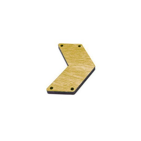 Wooden Connector Chevron 44x32mm