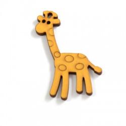 Ciondolo di Legno Giraffa 76x41mm