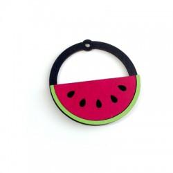 Wooden Pendant Watermelon 50mm