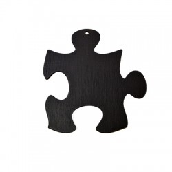 Wooden Lucky Pendant Blackboard Puzzle  121x116mm
