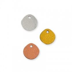 Ξύλινο Μοτίφ Στρογγυλό Ακανόνιστο 15mm
