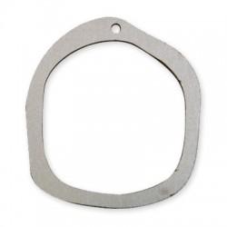 Ξύλινο Μοτίφ Στρογγυλό Ακανόνιστο Περίγραμμα 50x55mm