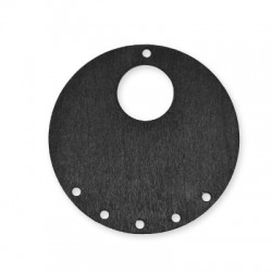 Wooden Pendant Round 60mm