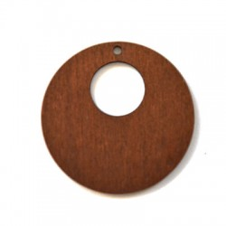 Wooden Pendant Round 50mm