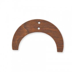 Wooden Pendant 43x26mm