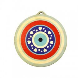 Wooden Pendant Round Eye 95mm