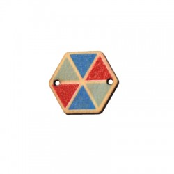 Wooden Connector Kite 22x19mm