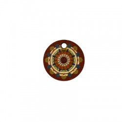 Wooden Pendant Round 18mm