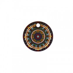 Wooden Pendant Round 20mm