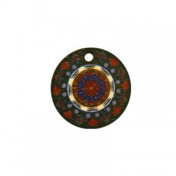 Wooden Pendant Round 21mm