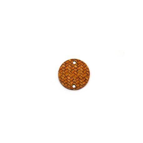 Ξύλινο Στοιχείο Στρογγυλό για Μακραμέ 20mm