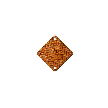 Ξύλινο Στοιχείο Ρόμβος για Μακραμέ 20mm