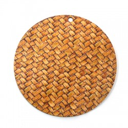 Wooden Pendant Round 60mm