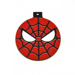 Wooden Lucky Pendant Christmas Ball Spider 59mm