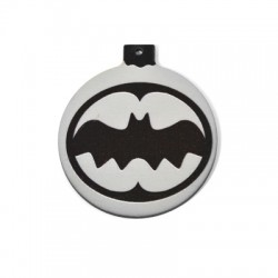 Wooden Lucky Pendant Christmas Ball Bat 61mm