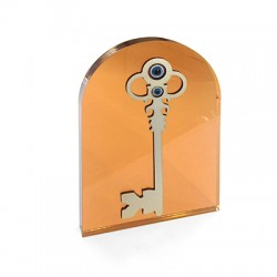 Wooden and Plexi Acrylic Deco Key 96x114mm