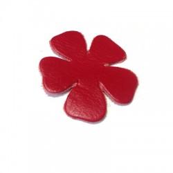 Δερμάτινο Στοιχείο Λουλούδι 60mm