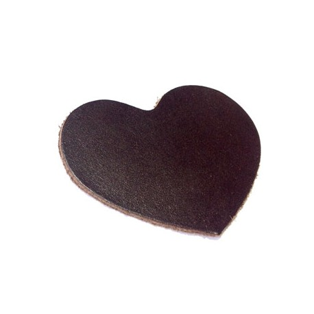 Leather Heart 60mm