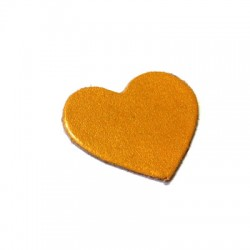 Leather Heart 40mm