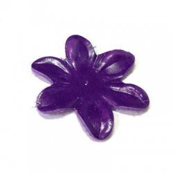 Δερμάτινο Στοιχείο Λουλούδι 55mm