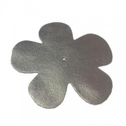 Δερμάτινο Στοιχείο Λουλούδι 80mm