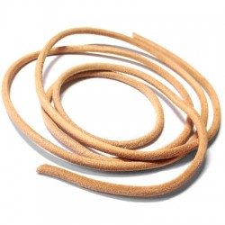 Greek Leather Cord Round ~ 3mm