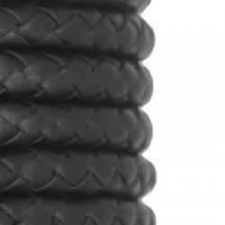 Συνθετικό Δερμάτινο Κορδόνι Στρογγυλό Πλεκτό 8mm