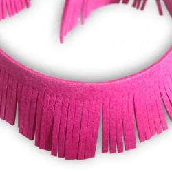 Artificial Suede Weft 28mm wide (1.6 mtr length)