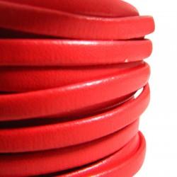 Συνθετικό Δερμάτινο Κορδόνι Πλακέ 5mm (10μέτρα)