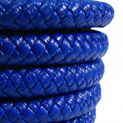 Synthetic Leather Cord Braided 10mm