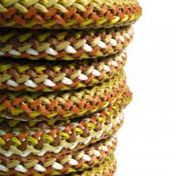 Κορδόνι Συνθετικό Πλεκτό Στρογγυλό 5mm