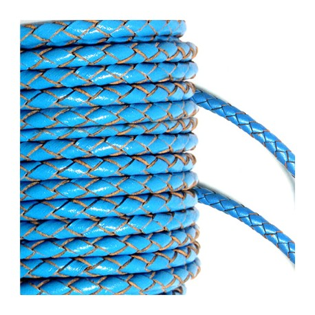 Artificial Leather Cord Twisted 3mm
