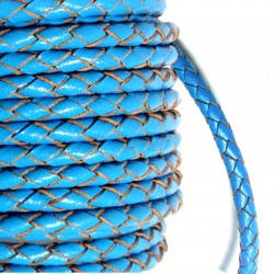 PU Leather Braided Cord 5mm