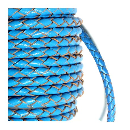 Artificial Leather Cord Twisted 5mm