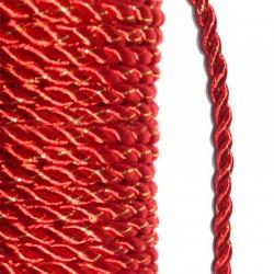 Cordon Polyester Tressé 4mm (10 mtr/bobine )