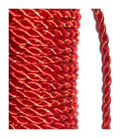 Κορδόνι Πολυεστερικό Στριφτό 4mm (10μέτρα/καρούλι)