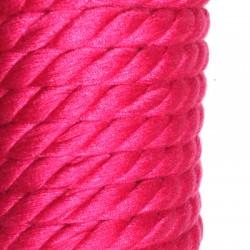 Cordon Cotton Tressé 7mm (5 mtr/bobine )